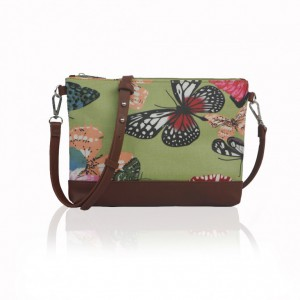 Kabelka Small Crossbody Butterfly Dream - zelená